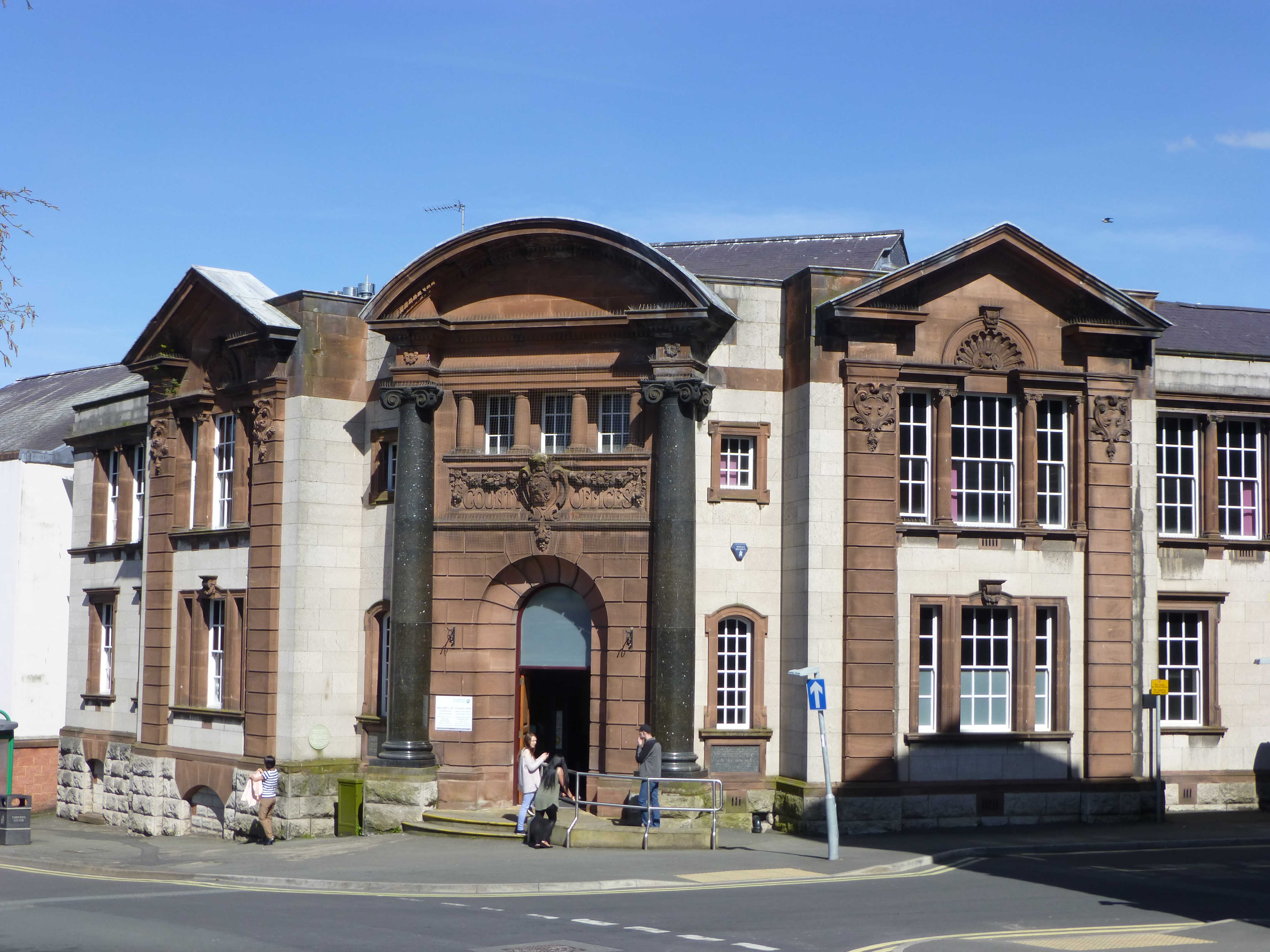 County Hall Ruthin