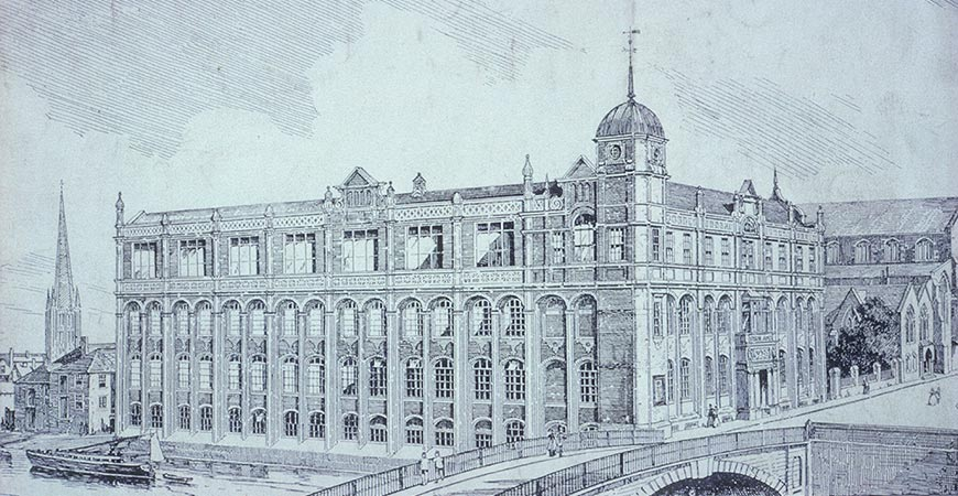 Norwich Technical College 1891 A E Collins and Walter D Wiles