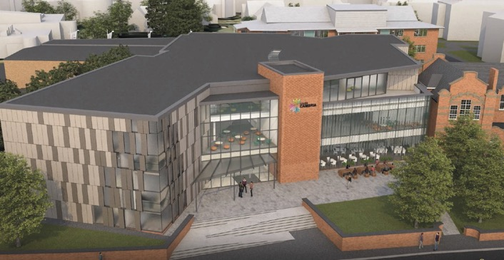 Artists Impression Grove Road Campus