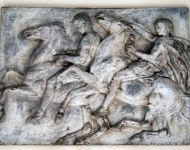 Replica of Elgin Marbles frieze